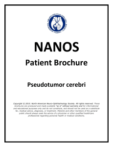Patient Brochure - North American Neuro