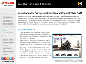Yamaha Motor Europe optimiert Marketing mit Elvis DAM
