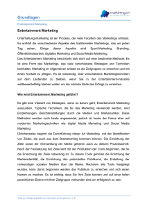 Grundlagen - Marketing.ch