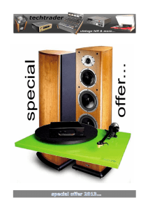 special offer - techtrader vintage hifi