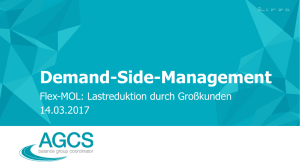 Demand-Side-Management - E