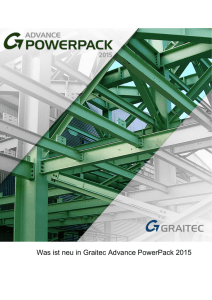 Was ist neu in Graitec Advance PowerPack 2015