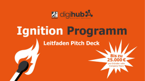Leitfaden Pitch Deck