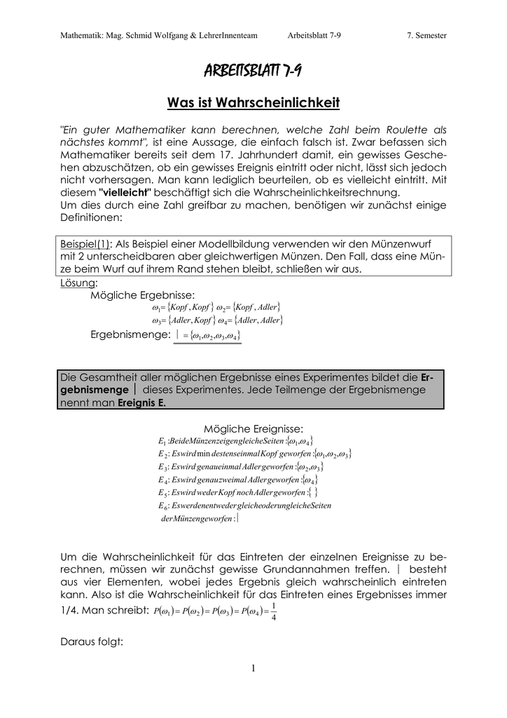 A 7-9 Baumdiagramme