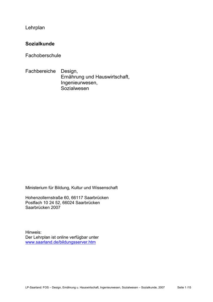 ministerium für bildung saarland
