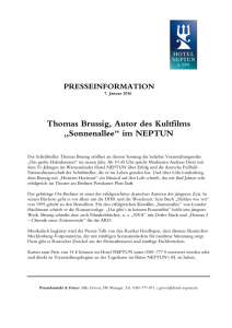 Thomas Brussig, Autor des Kultfilms