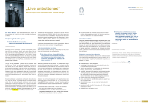 Live unbottoned - Helmut Muthers
