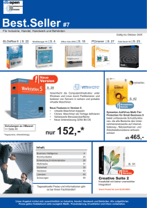 Best.Seller #7 - db open Informationssysteme GmbH