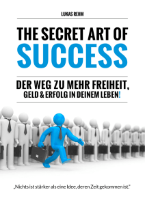 SecretArtofSuccess - Who is Lukas Rehm?