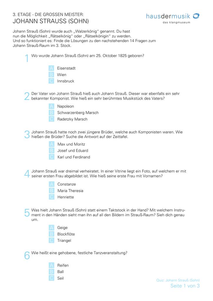 Quizfragen