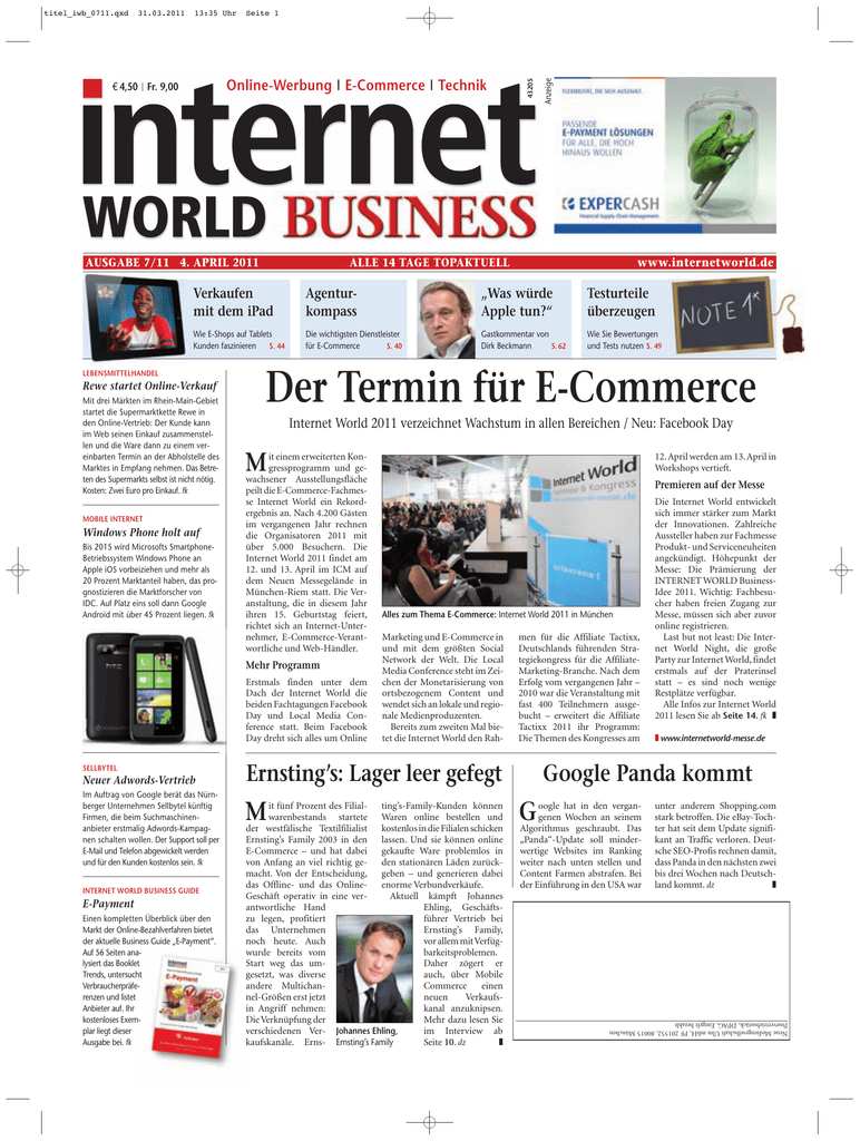91437351d78c52 - Heftarchiv - Internet World Business
