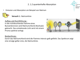 2. 1.2 quantenhafte Absorption