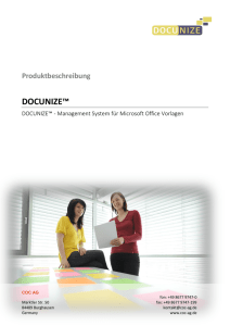 DOCUNIZE November 2014
