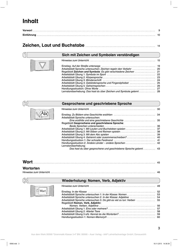 Inhalt - Auer Verlag