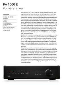 T+A 1000 Serie - Audio Forum HiFi