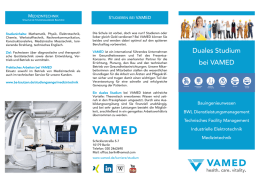 Duales Studium bei VAMED