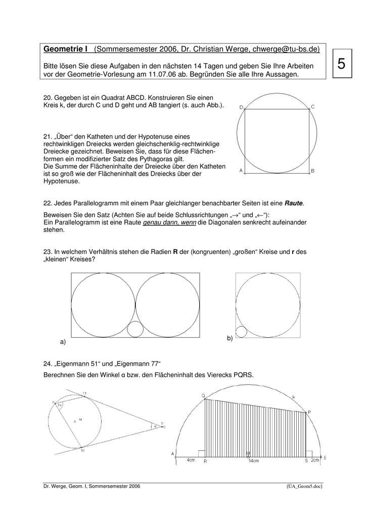 Ziemlich Dreiecke Kongruent Erweist Arbeitsblatt Bilder - Mathe ...