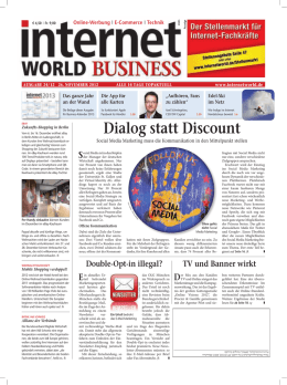 - Heftarchiv - Internet World Business