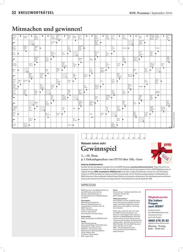 Ausbildungszeit Kreuzworträtsel