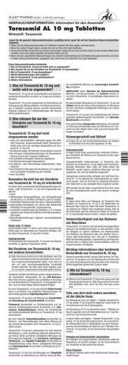 Umrechnung Torasemid Furosemid-8682