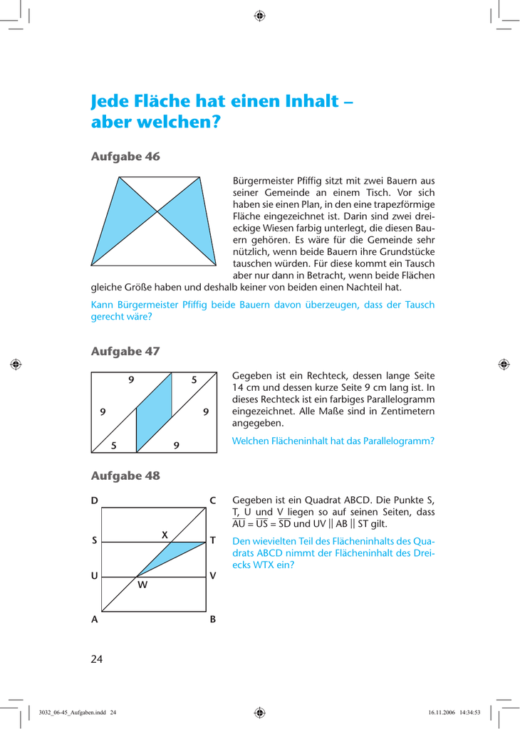 Nett Fläche Eines Quadrats Arbeitsblatt Galerie - Super Lehrer ...