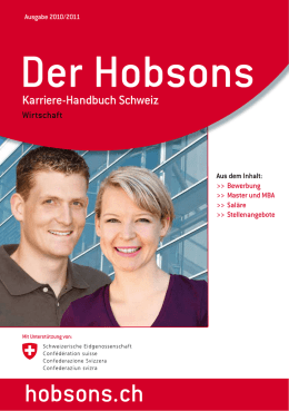 hobsons.ch - English Forum Switzerland