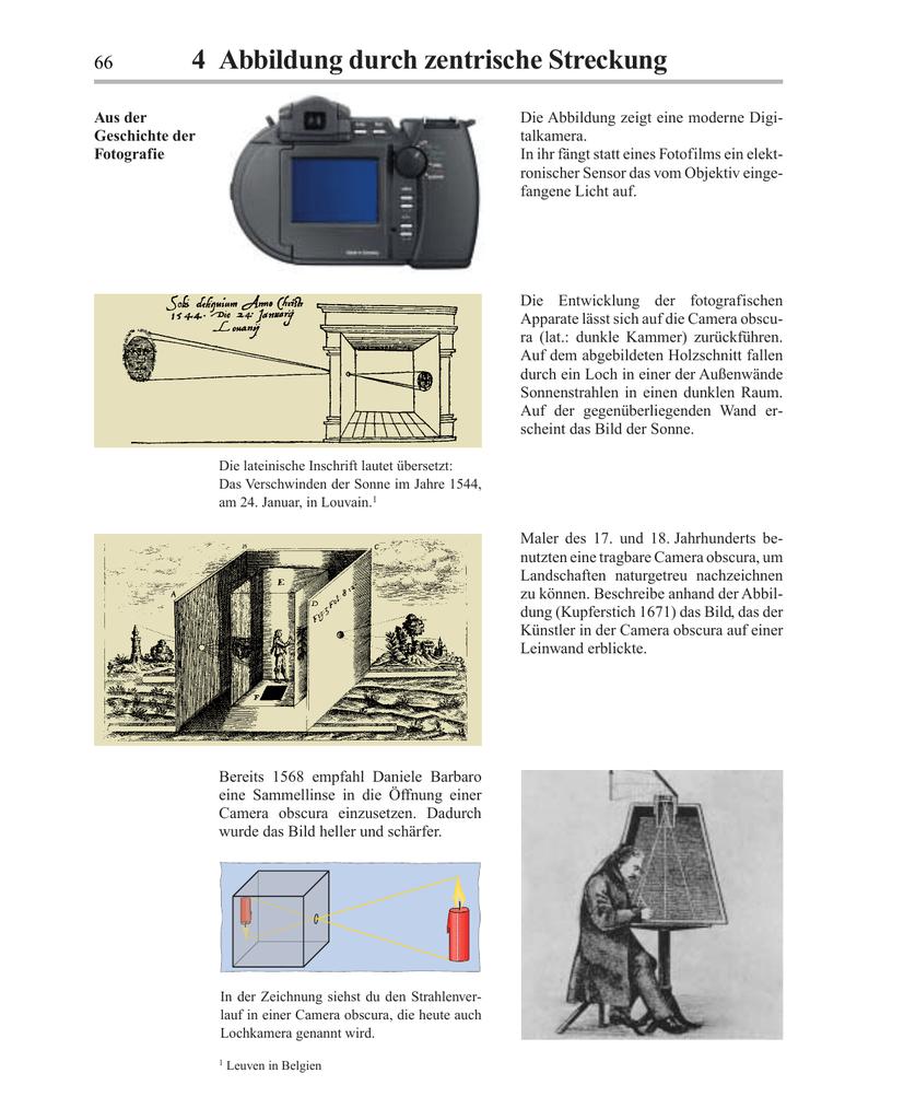 4 Abbildung durch zentrische Streckung