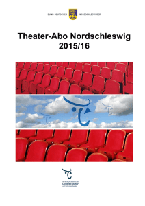 Theater-Abo Nordschleswig 2015/16
