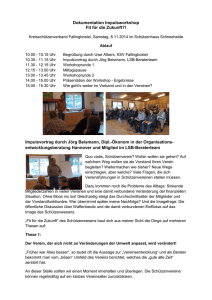 Dokumentation Impulsworkshop Fit für die