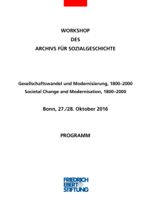 Programm-Workshop - Bibliothek der Friedrich-Ebert