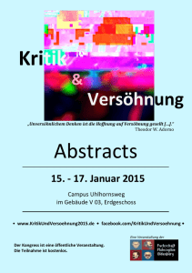 Kritik Abstracts