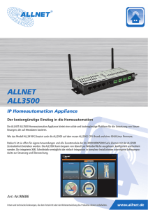 IP Homeautomation Appliance ALLNET ALL3500