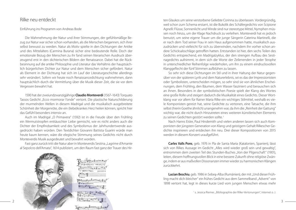 Rilke Neu Entdeckt