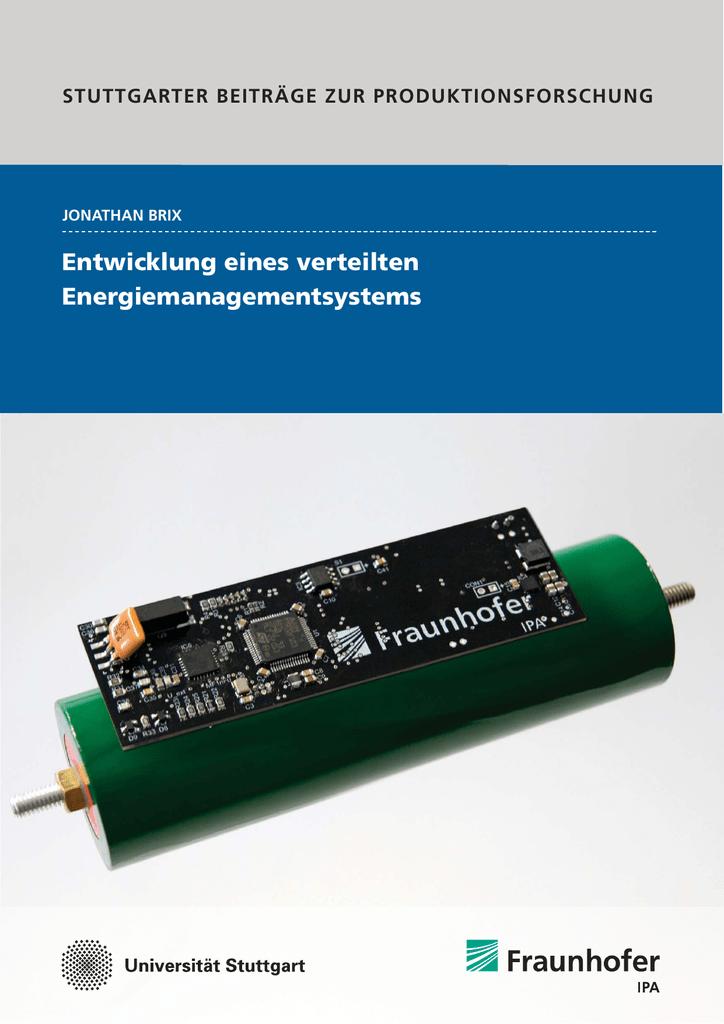Entwicklung eines verteilten Energiemanagementsystems