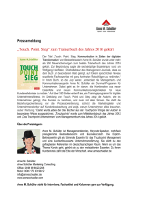 Trainerbuch des Jahres 2016 - German Speakers Association