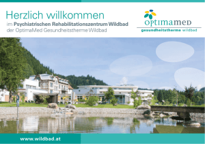 Folder Psychologische Reha Wildbad