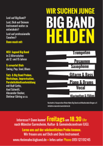 Big Band Helden Flyer DIN A5_Dauer.indd