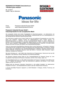 Panasonic Industrial Europe GmbH