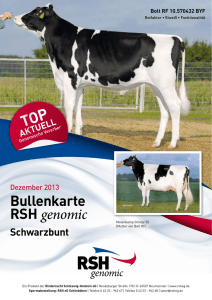 Bullenkarte RSH genomic