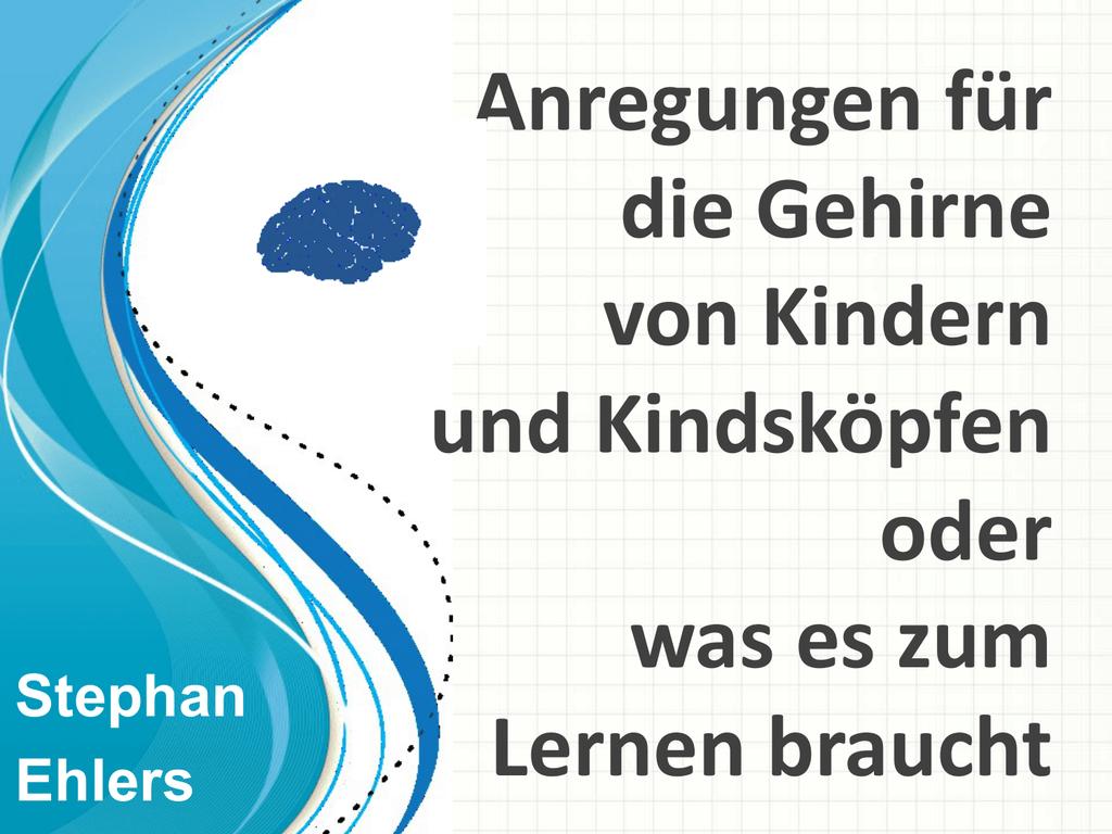 Vortrag von Stephan Ehlers - Bildungsnetzwerk Südliche