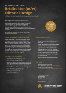 Artdirektor (m/w) Editorial Design