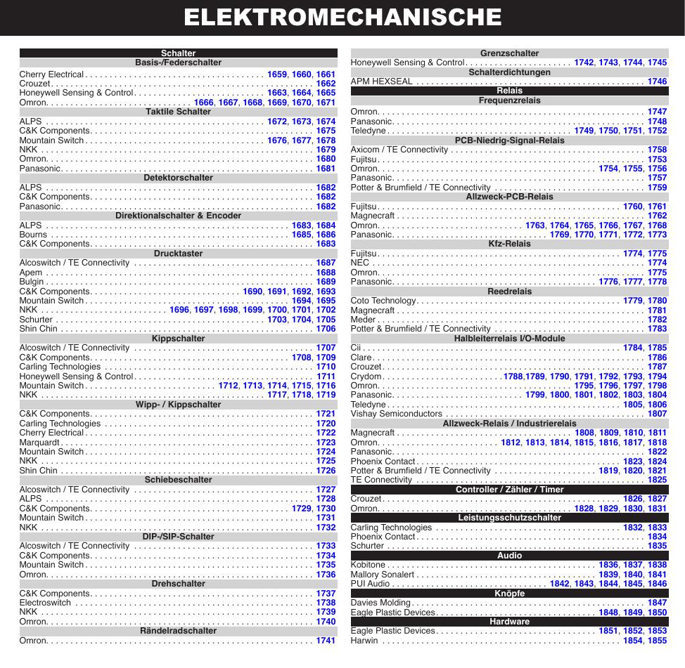 elektromechanische
