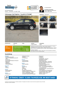 Volkswagen Golf Highline - Facelift 2.0 TDI BMT 23.510 € 282 € 165