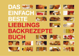 Montessori Lindestraße Backbuch