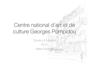 Centre national d`art et de culture Georges Pompidou