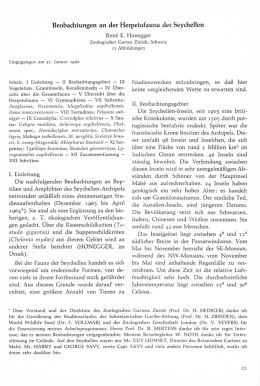 Honegger, R. E. - SALAMANDRA - German Journal of Herpetology