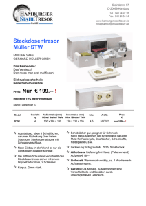 DOWNLOAD DATENBLATT Müller STW