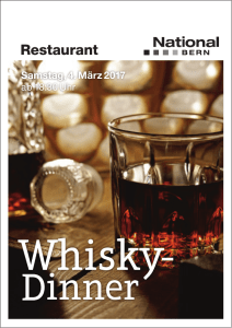 Whisky - National Bern