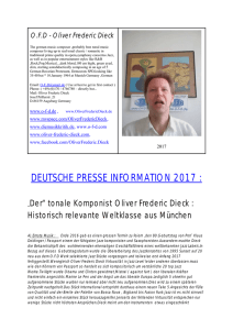 OFD - Oliver Frederic Dieck