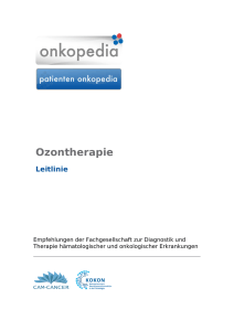 Ozontherapie